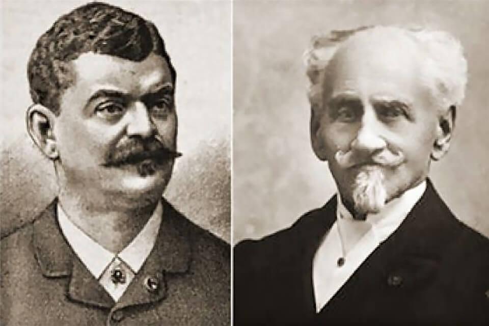 Sacher család - apa és fia