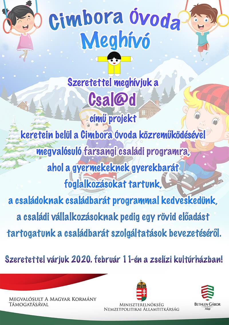 Csal@d plakát